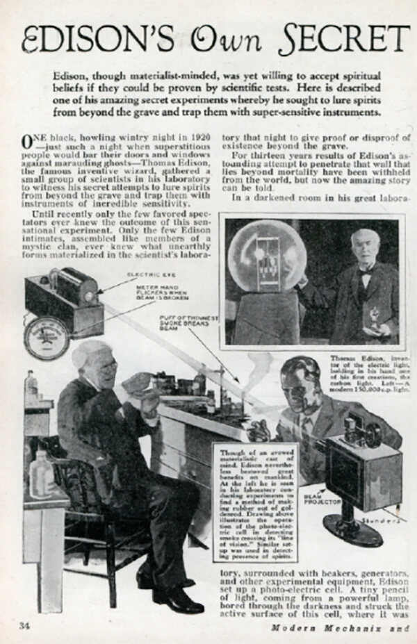 Dial-a-Ghost on Thomas Edison's Least Successful Invention: the