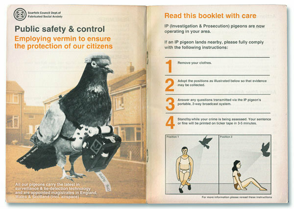 "A booklet explaining a new ""Investigation and Prosecution Pigeon Campaign."""