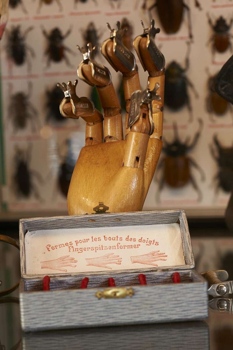 Fingertip shapers, used by women in the early 20th century, to make their fingertips more beautiful.