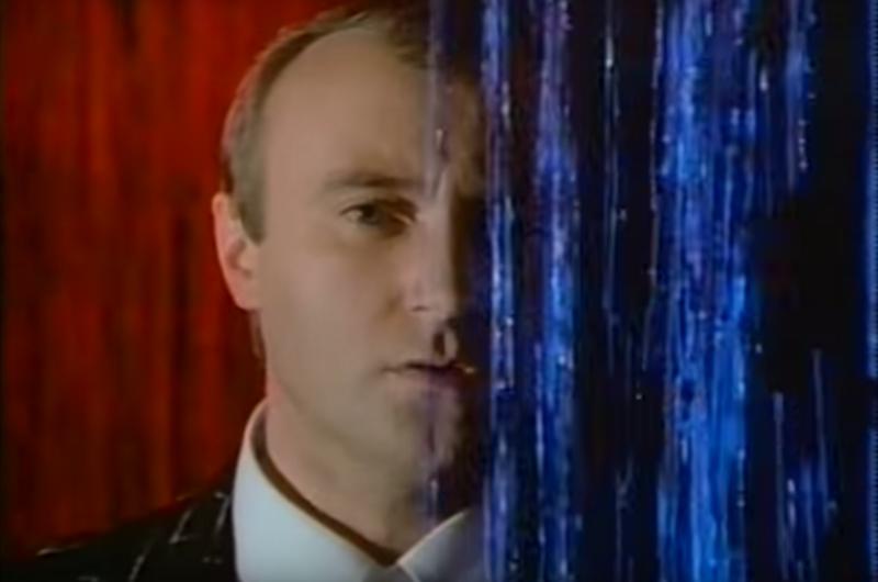 The video for Phil Collins' <em>Against All Odds</em>.
