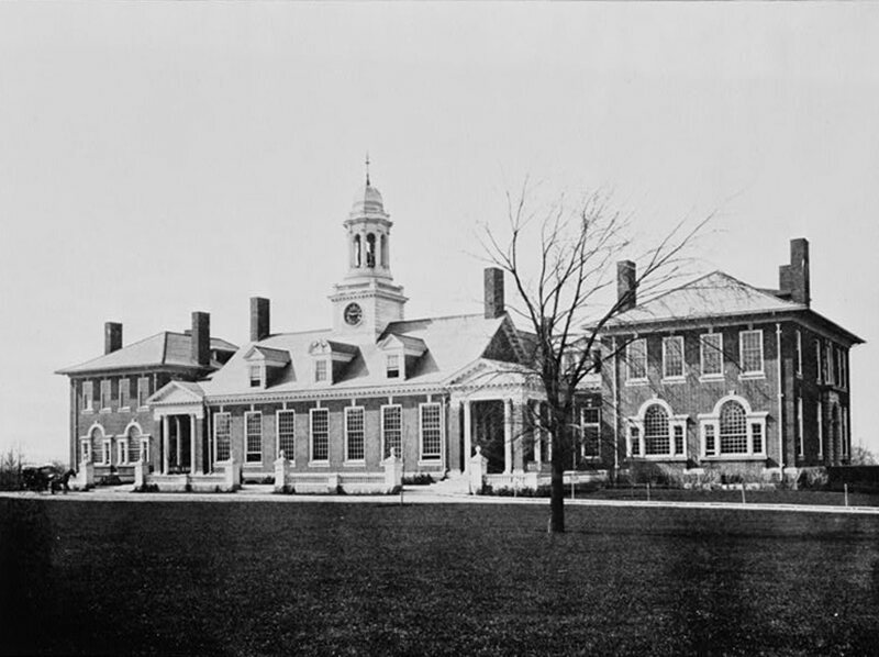 Groton School in Massachusetts, attended by Franklin D. Roosevelt.