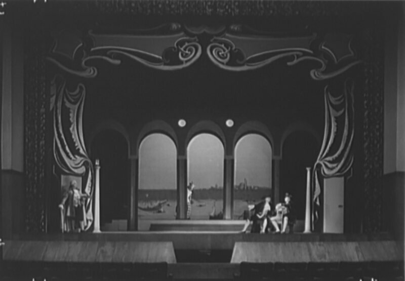 A 1940 production at Juilliard, where Edith Skinner taught drama.