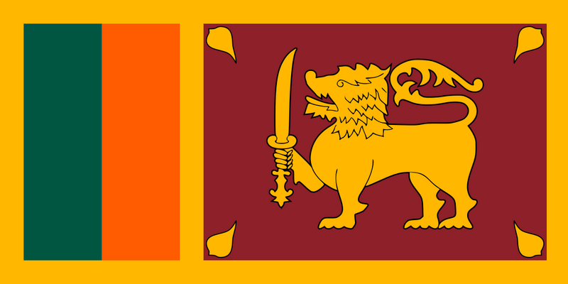 Sri Lanka's flag is complicated, but effective.