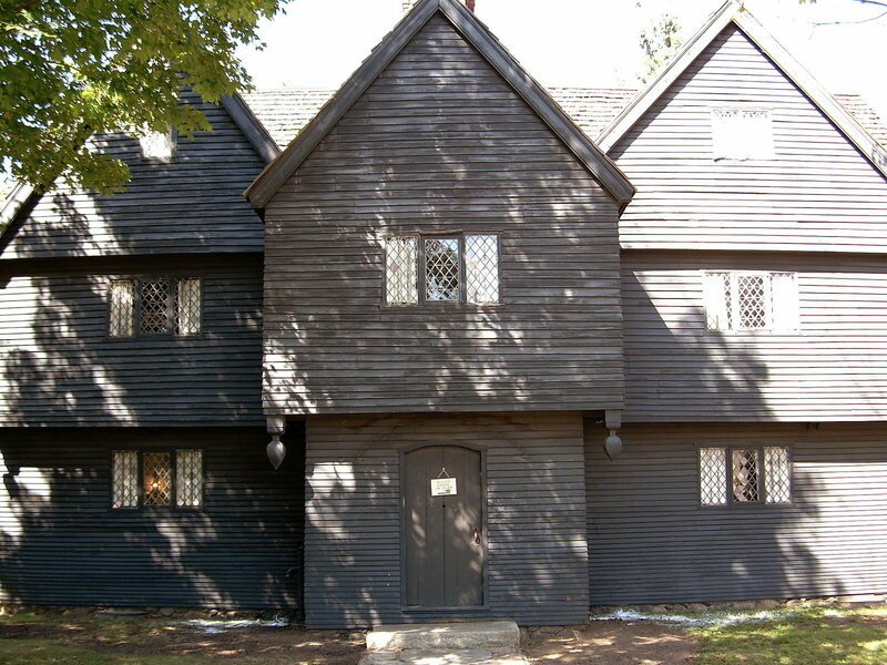 The Salem Witch House, home to zero witches.