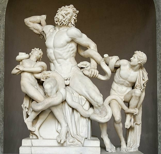 The famous statue of Laocoon is now rumored to have been another of Michelangelo's forgeries.