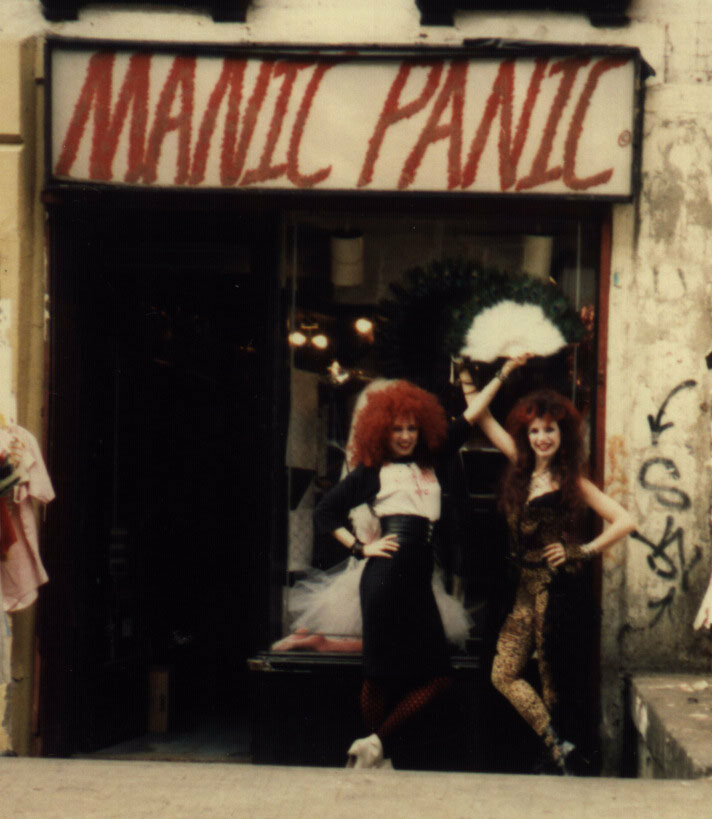 Tish and Snooky at Manic Panic.