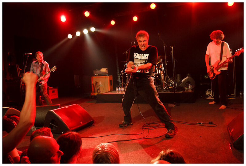 Jello Biafra of <em>The Dead Kennedys</em> ran for president under the Green Party in 2000.