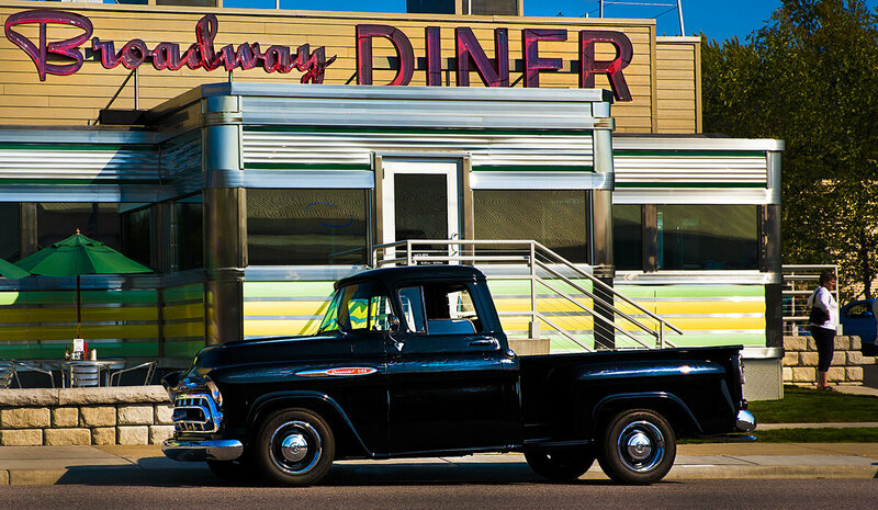 Broadway Diner in Baraboo, WI.