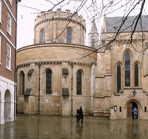 Temple Church (1160-1240), City of London.