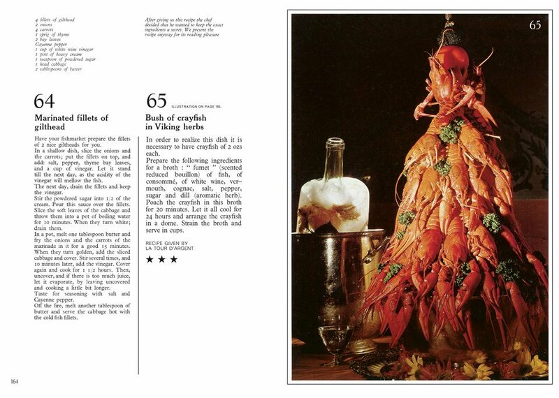 Bush of crayfish recipe by La Tour d'Argent.
