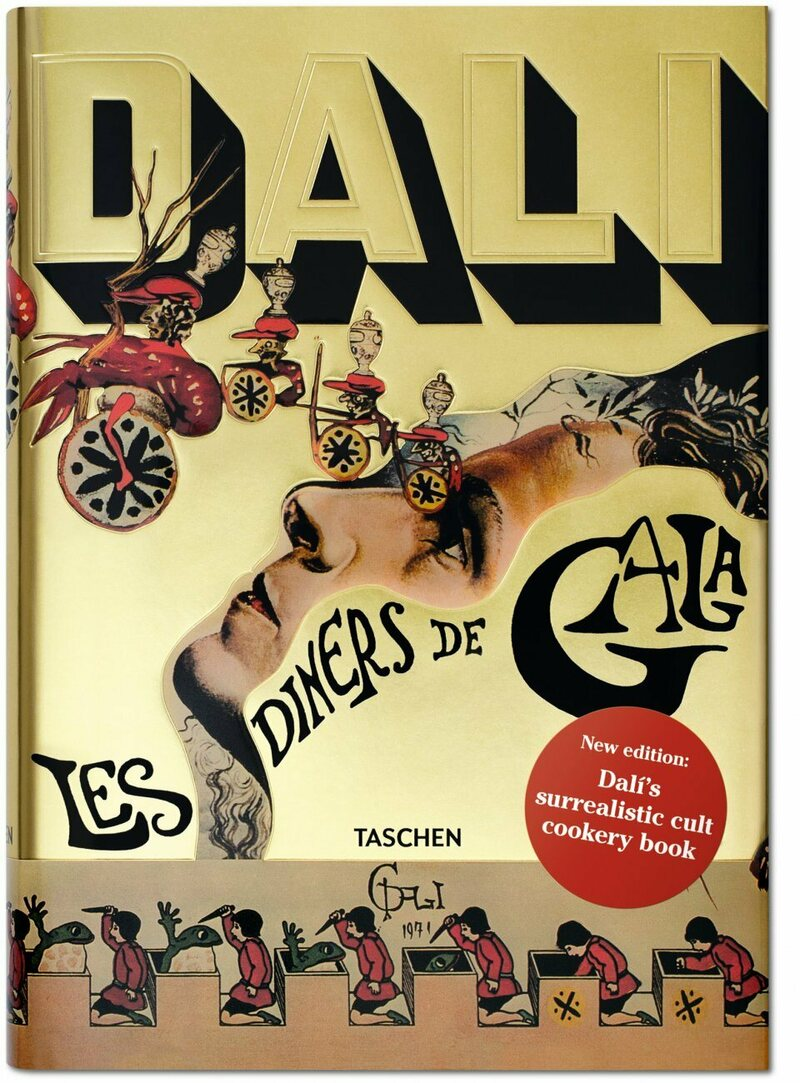 <em>Les Dîners de Gala</em> has been reprinted for the first time ever by Taschen.