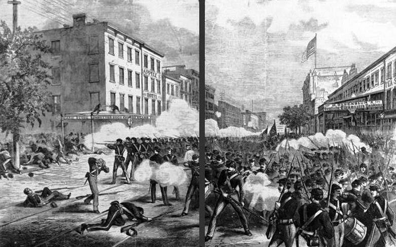 The New York Orange Riot of 1871.