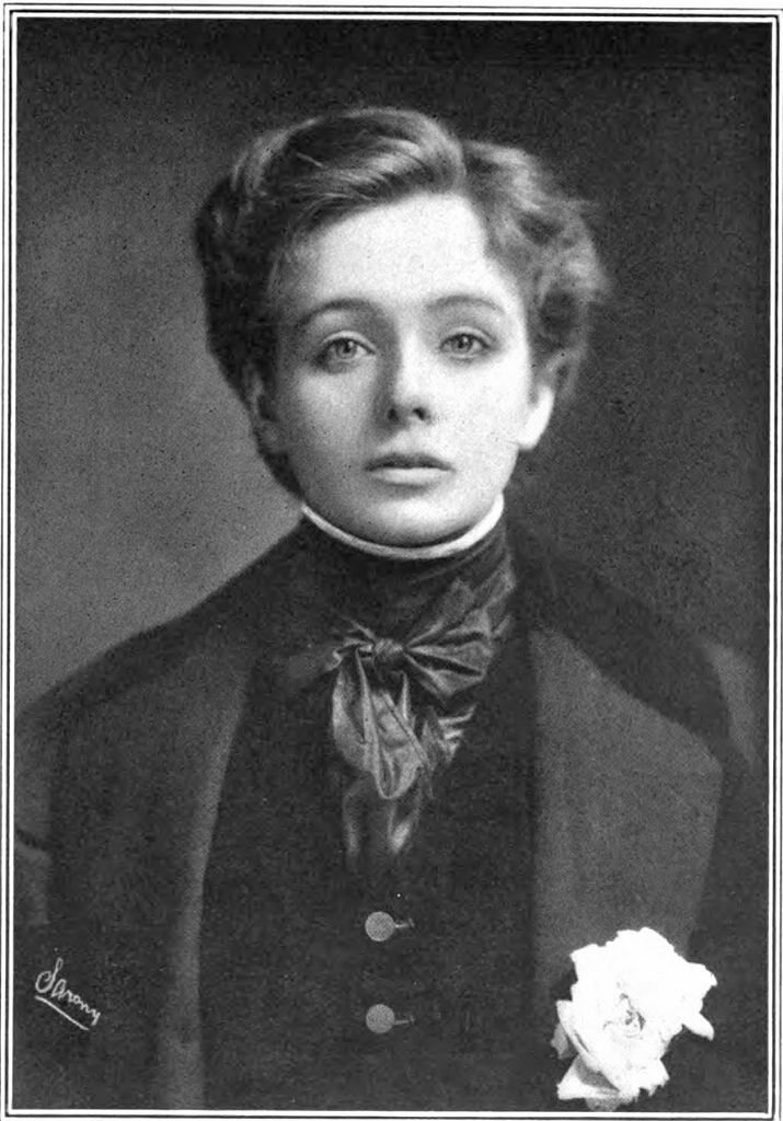 Maude Adams as Napoleon II, L'Aiglon.