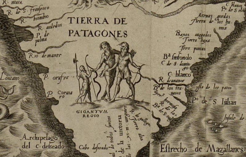 Patagonia, Ferdinand Magellan's legendary land of giants.