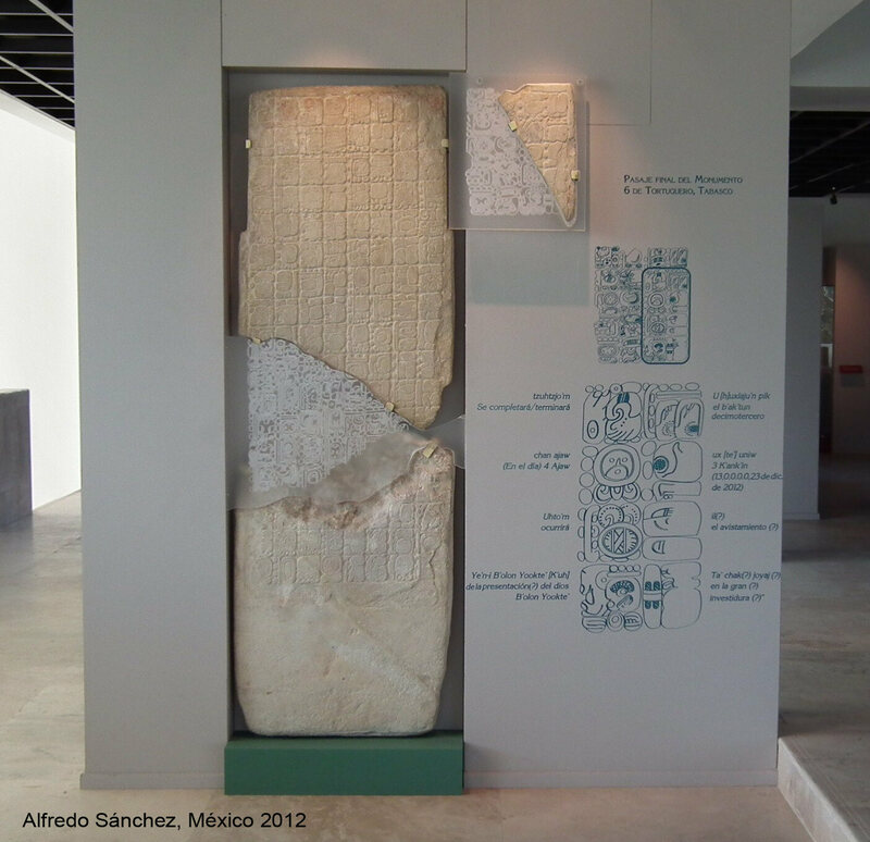 This pillar is the only piece of evidence suggesting a Mayan Doomsday prediction.