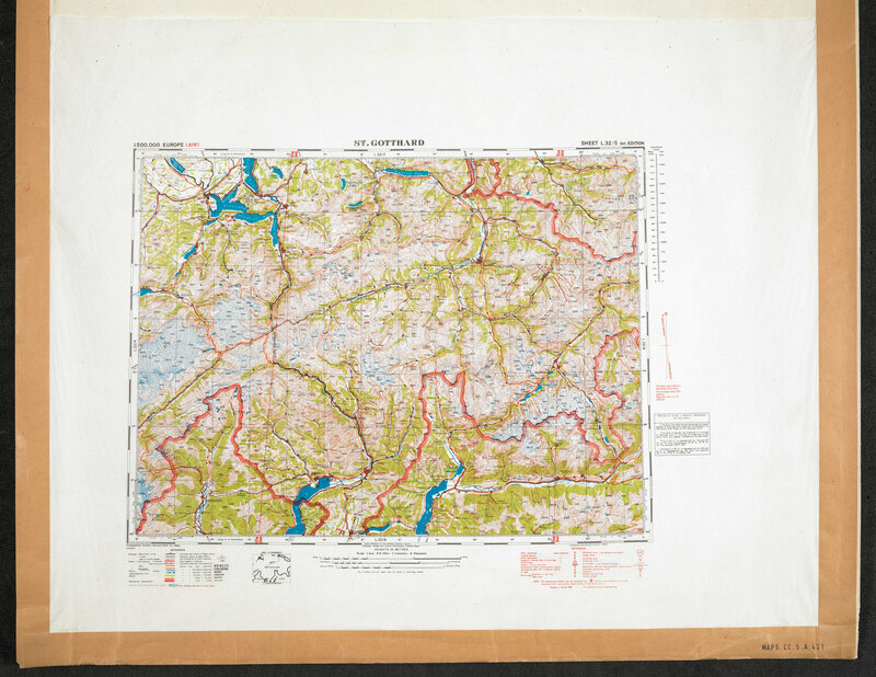 How Millions Of Secret Silk Maps Helped POWs Escape Their