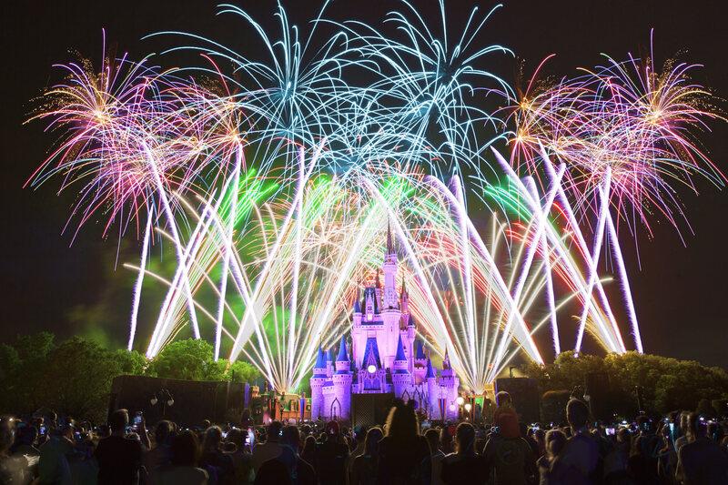 The Magic Kingdom.