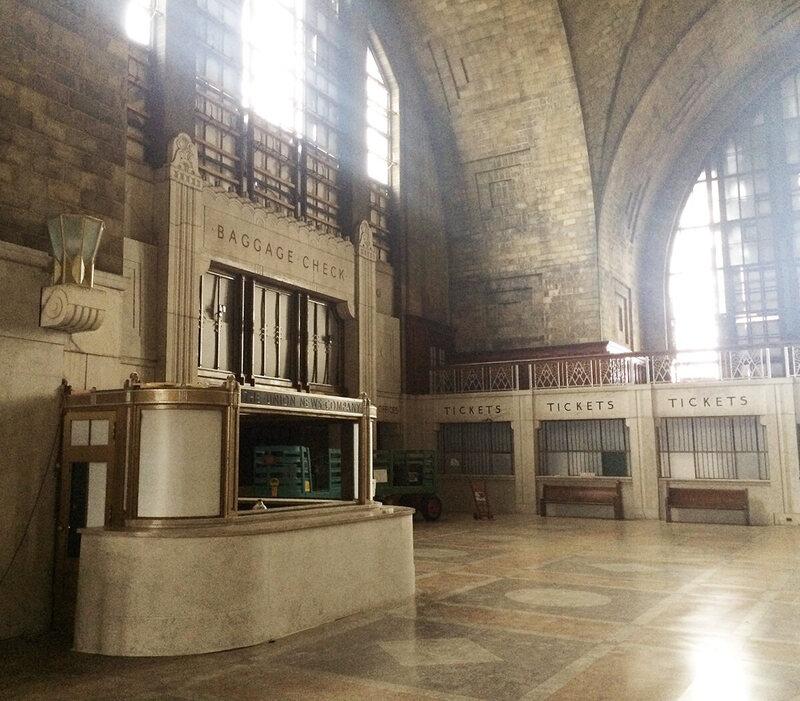Peek Inside Buffalo's Abandoned Art Deco Train Terminal