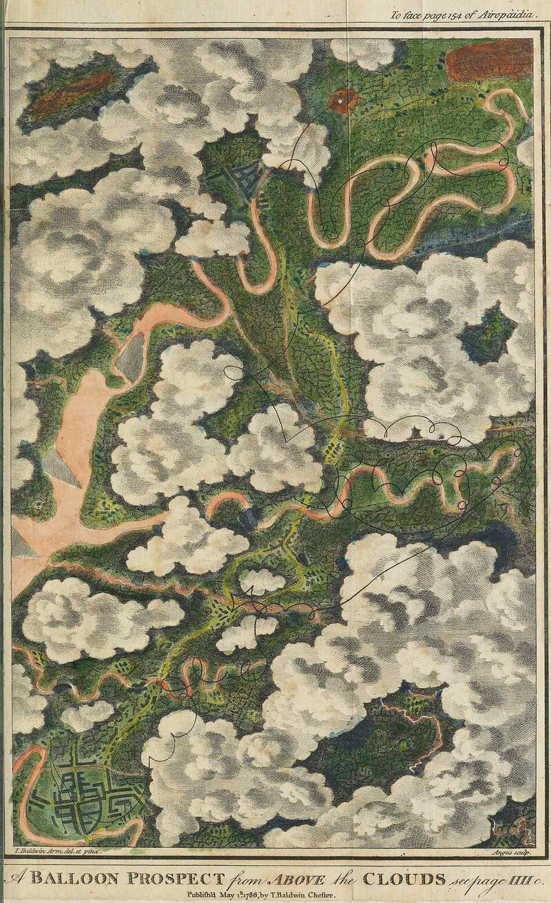 The balloon maps that aided exploration war and tourism atlas balloon prospect from above the clouds from thomas baldwins gumiabroncs Choice Image