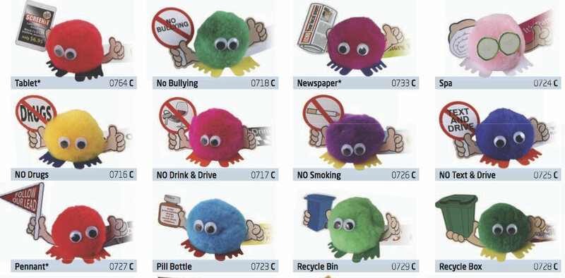 A sample of the current Weepuls catalogue.