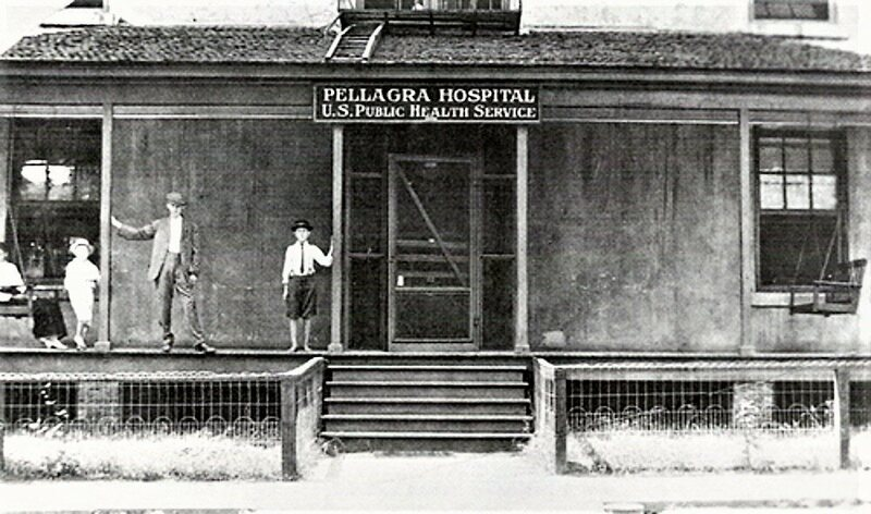 The United States Public Health Service opened a Pellagra Hospital in Spartanburg, South Carolina.*