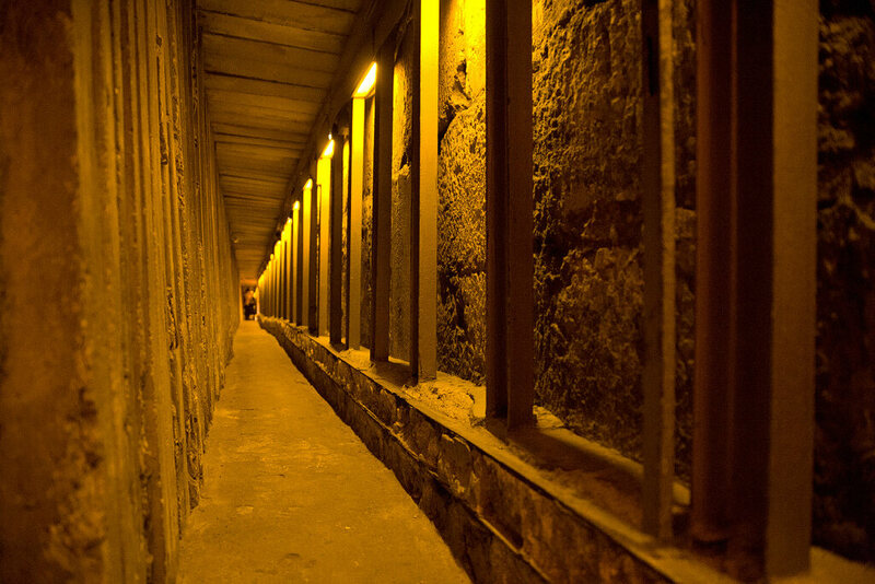 The Western Wall Tunnel.