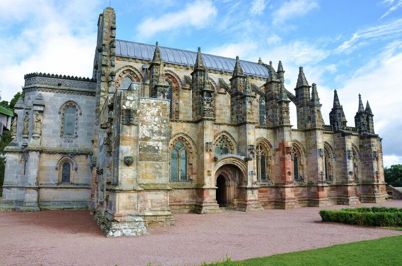 Rosslyn Chapel.
