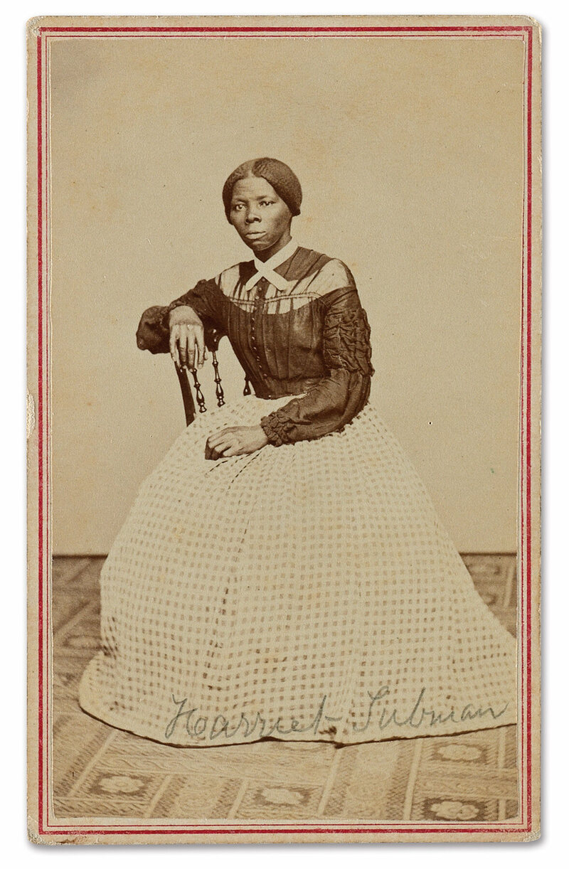An unrecorded photo of Harriet Tubman, circa 1860s