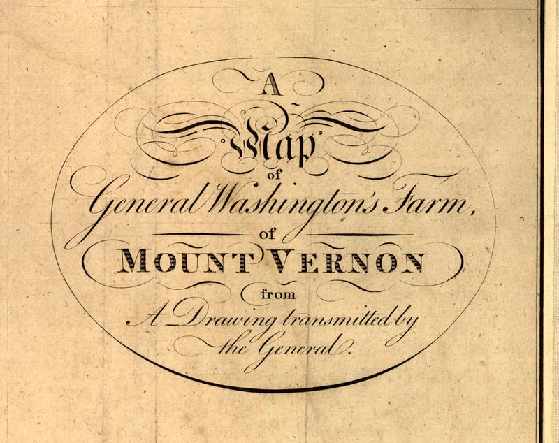 Mt Vernon Washington Map.George Washington S Own 1793 Map Of Mount Vernon Atlas Obscura