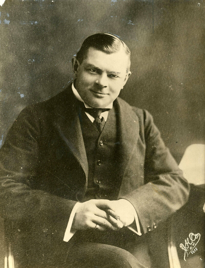 Charles Urban in 1912.