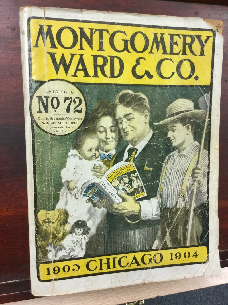 A Montgomery Ward catalog from 1903.