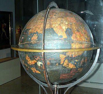 A bit of a clearer picture of the globe.