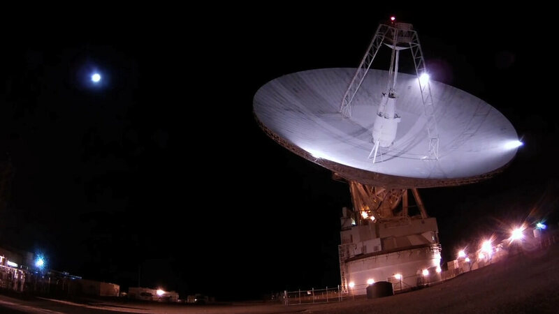 Goldstone Deep Space Communications Complex in California.