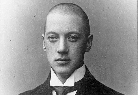 A young Nikolay Gumilyov.
