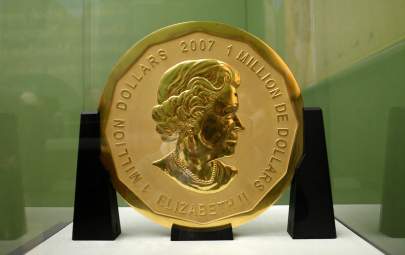 The coin.