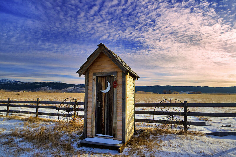Why We Think Outhouses All Had Crescent Moons In Their Doors Atlas