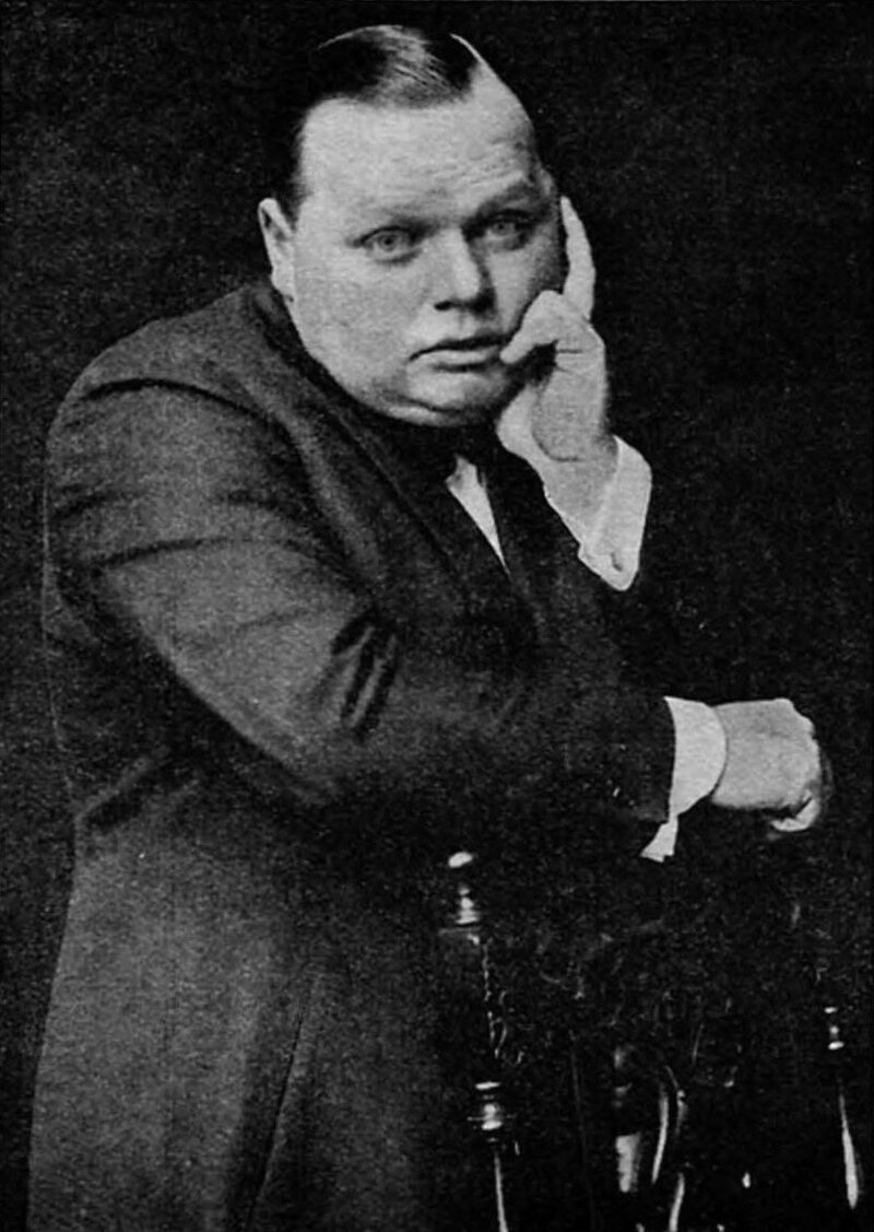 "Film star Roscoe ""Fatty"" Arbuckle kicked the whole thing off with a wager."