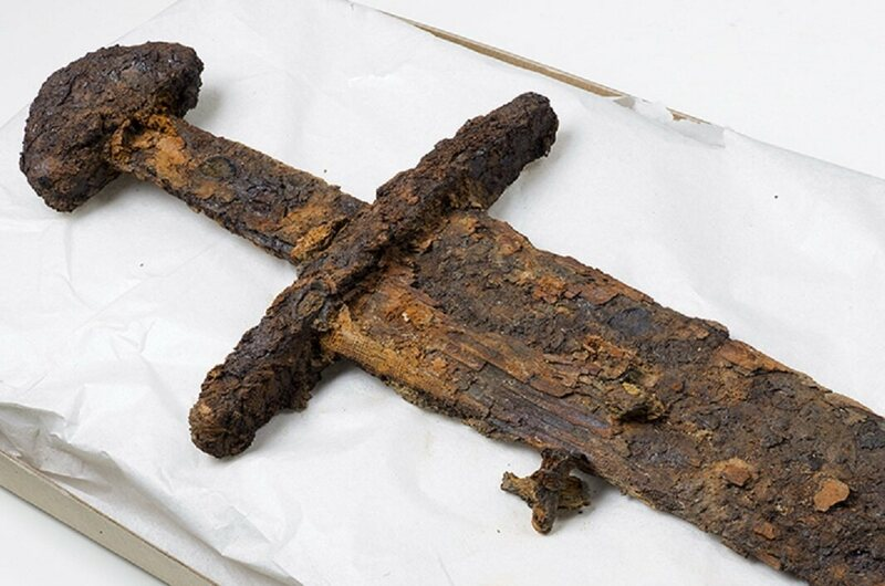 A Viking sword from Norway.