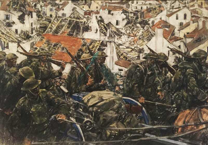 The Artists Who Depicted War in a Whole New Way - Atlas Obscura