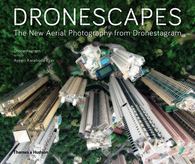 The cover of <em>Dronescapes: The New Aerial Photography from Dronestagram</em>.