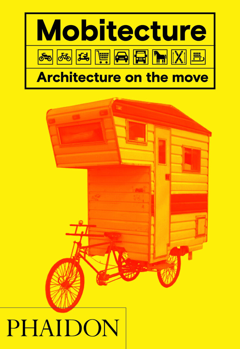 The cover for <em>Mobitecture: Architecture on the Move</em>.