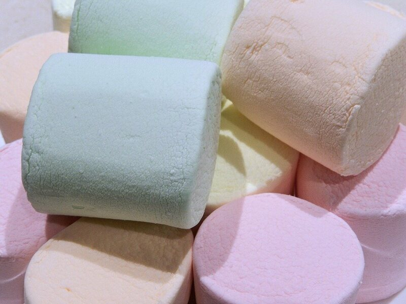 Marshmallows are made using gelatin, which is derived from animal bones.