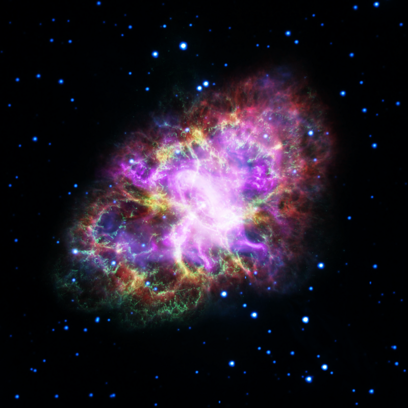 New view of the Crab Nebula.