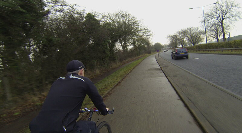 One of the cycleways today.