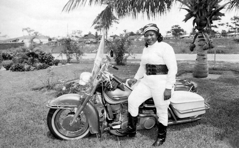"Bessie Stringfield, ""The Motorcycle Queen of Miami."""