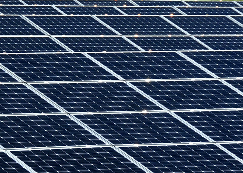 Solar panels can be converted into quite large floating power plants.