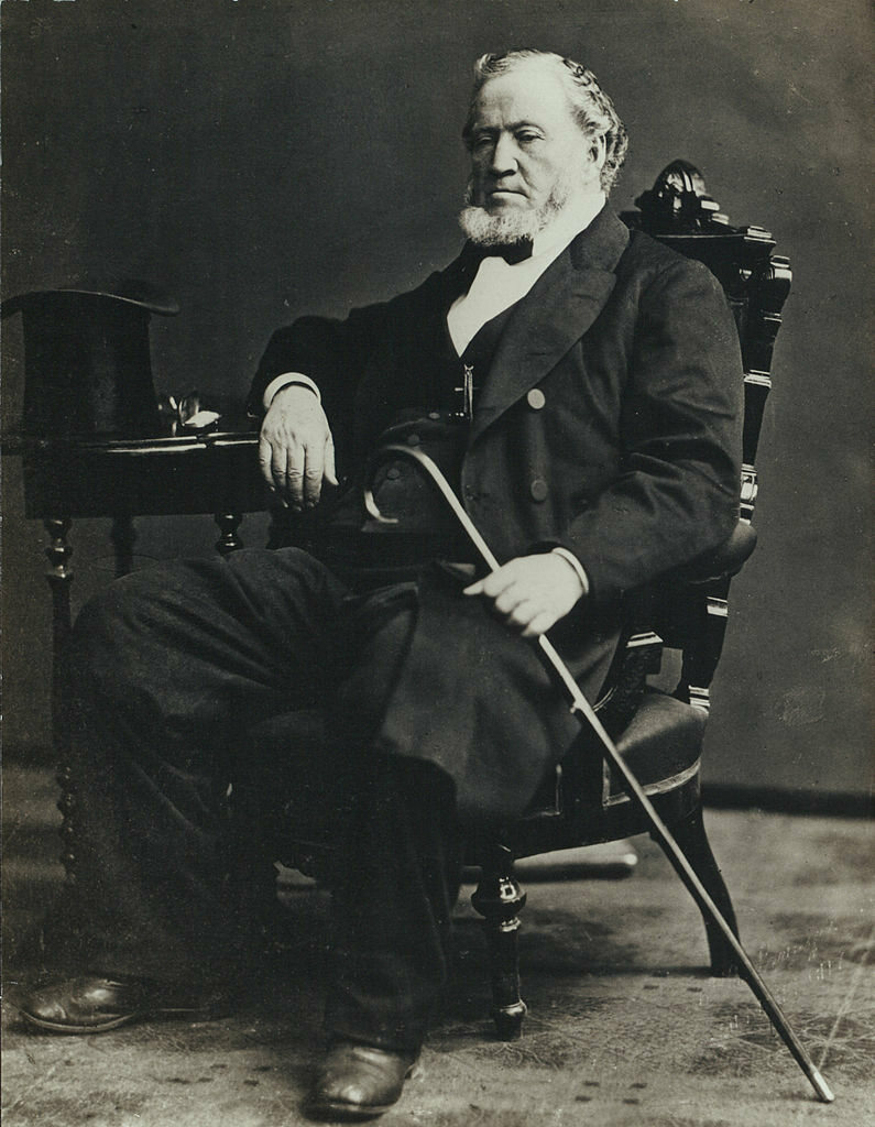 Brigham Young, photographed c. 1870.