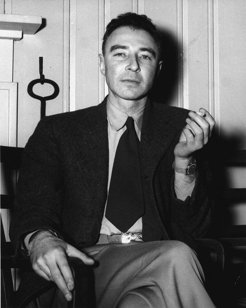 Oppenheimer, c. 1946.