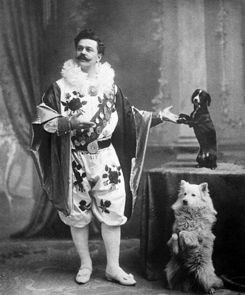 Vladimir Durov in costume, circa 1915.