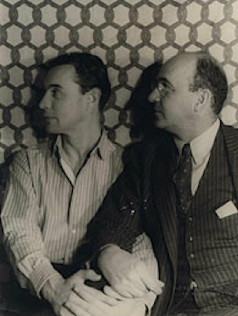 Bynner with his partner